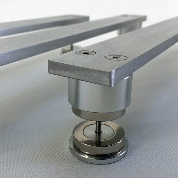 Aluminium speaker isolation suspension bridges
